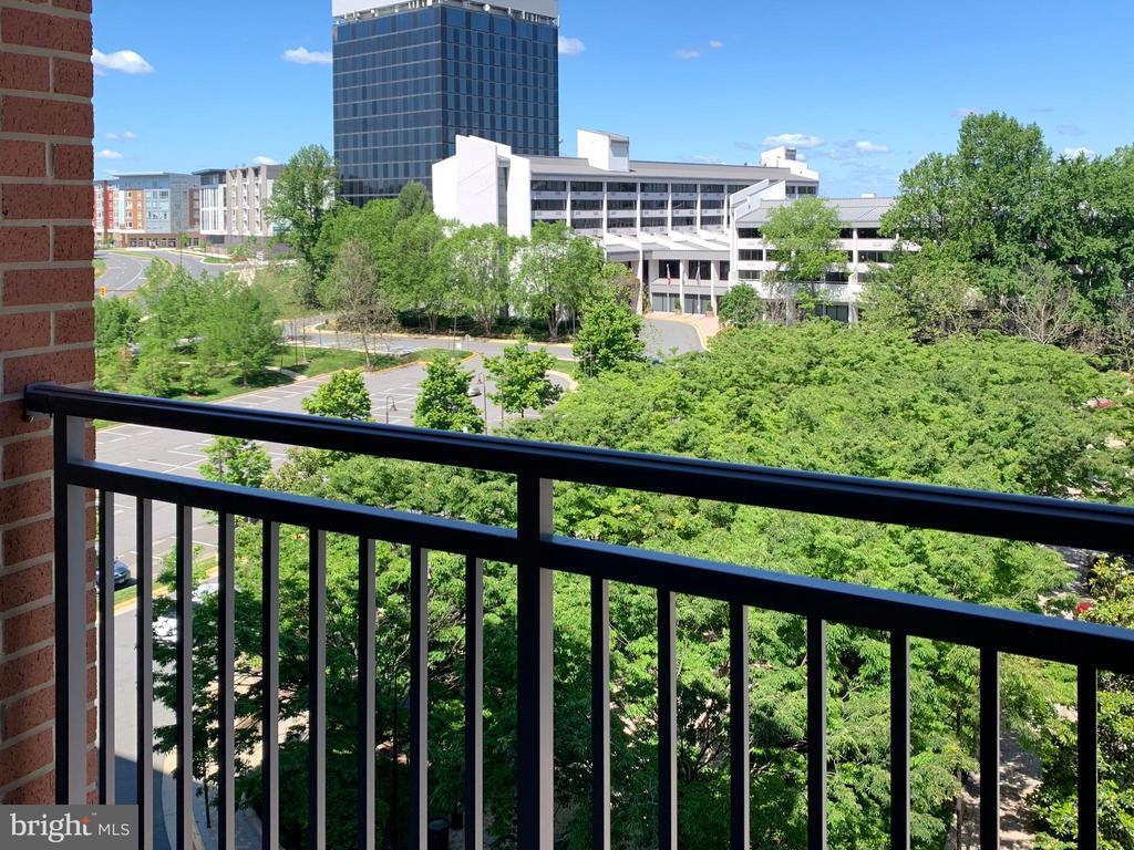 Balcony View - 11760 SUNRISE VALLEY DR #606, RESTON