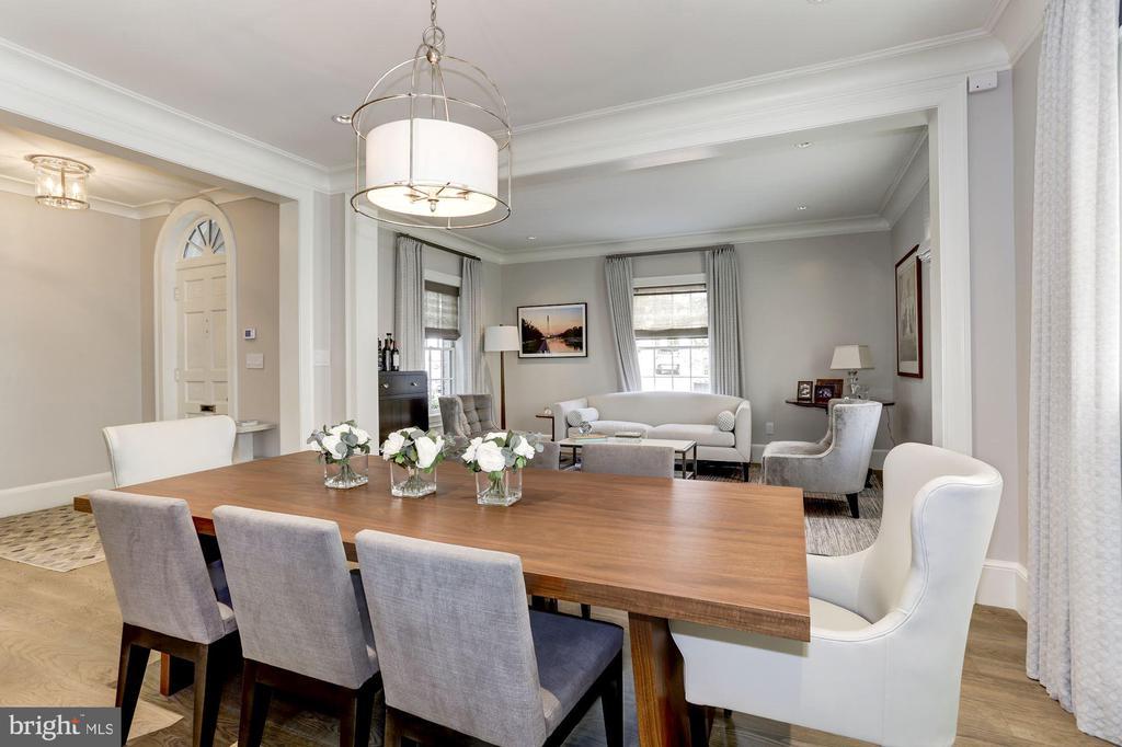 Dining Room - 1514 30TH ST NW, WASHINGTON