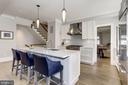 Kitchen - 1514 30TH ST NW, WASHINGTON