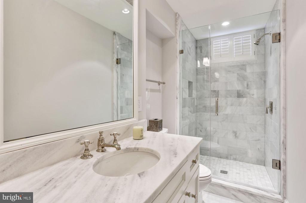 Lower Level Full Bath - 1514 30TH ST NW, WASHINGTON