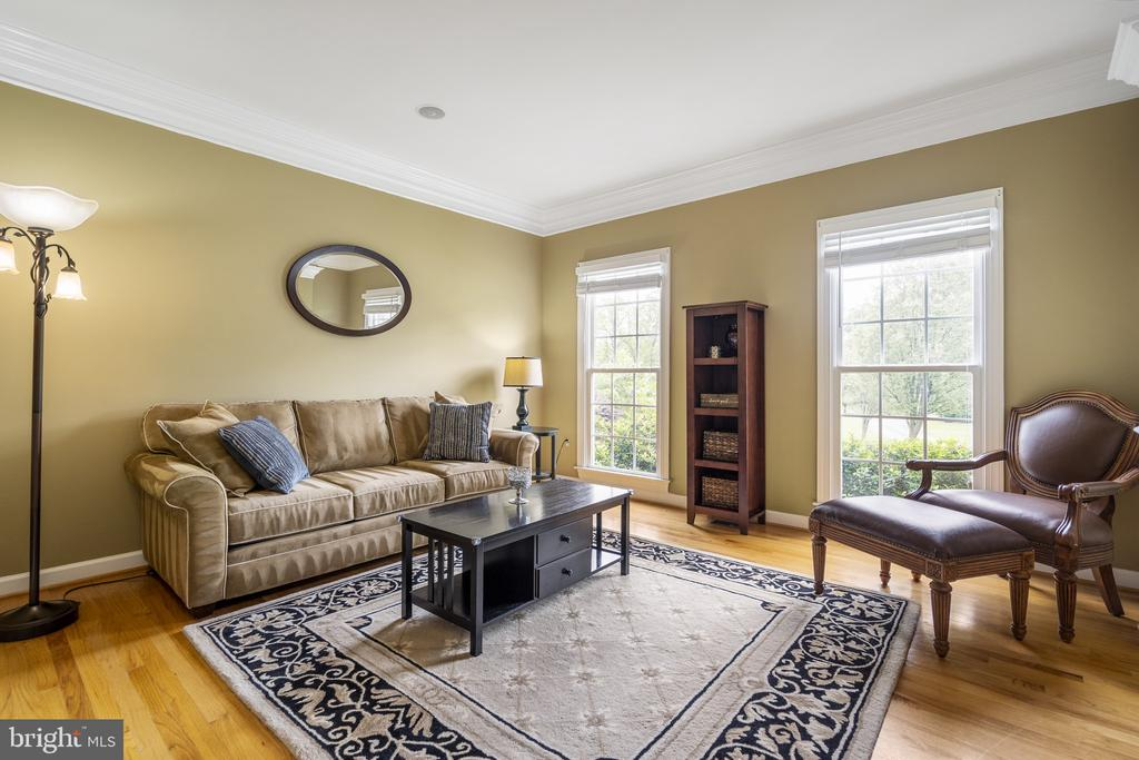 Living Room - 40243 FEATHERBED LN, LOVETTSVILLE
