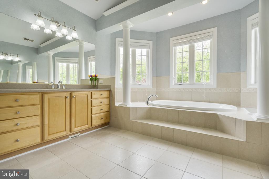 Master Bathroom - 40243 FEATHERBED LN, LOVETTSVILLE
