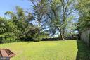 Backyard - 7505 MENDOTA PL, SPRINGFIELD