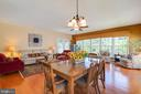Flexible Great Room / Dining Area - 8 BATTERY POINT DR, FREDERICKSBURG
