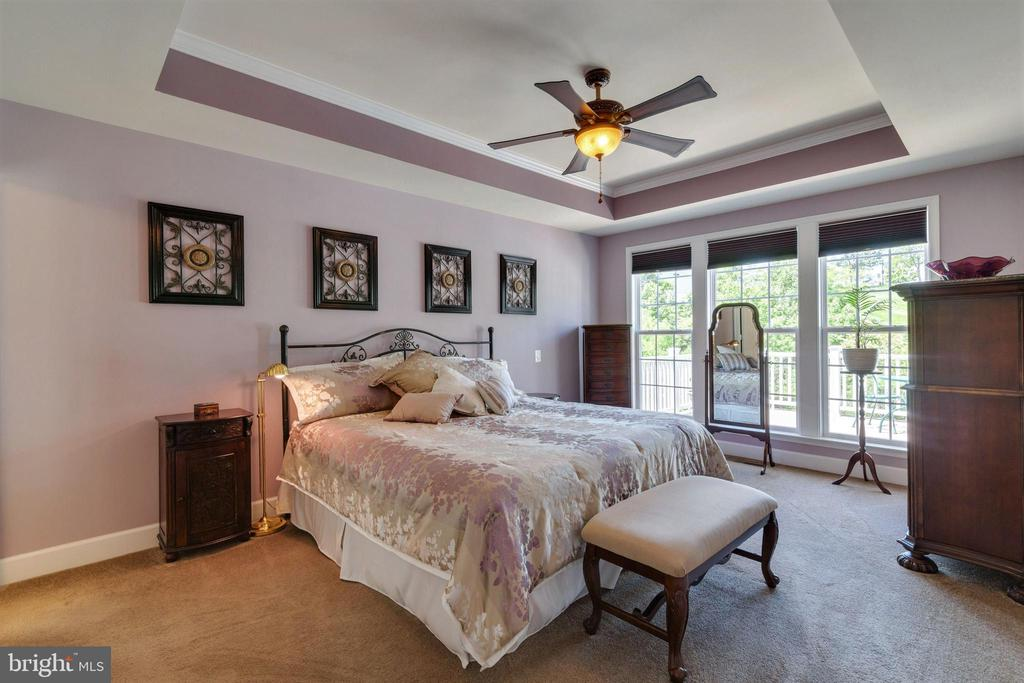 Owners Suite - 8 BATTERY POINT DR, FREDERICKSBURG