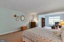 Lower Level Bedroom - 8 BATTERY POINT DR, FREDERICKSBURG