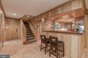 Lower Level - Recreation Room with Wet Bar - 4070 52ND ST NW, WASHINGTON
