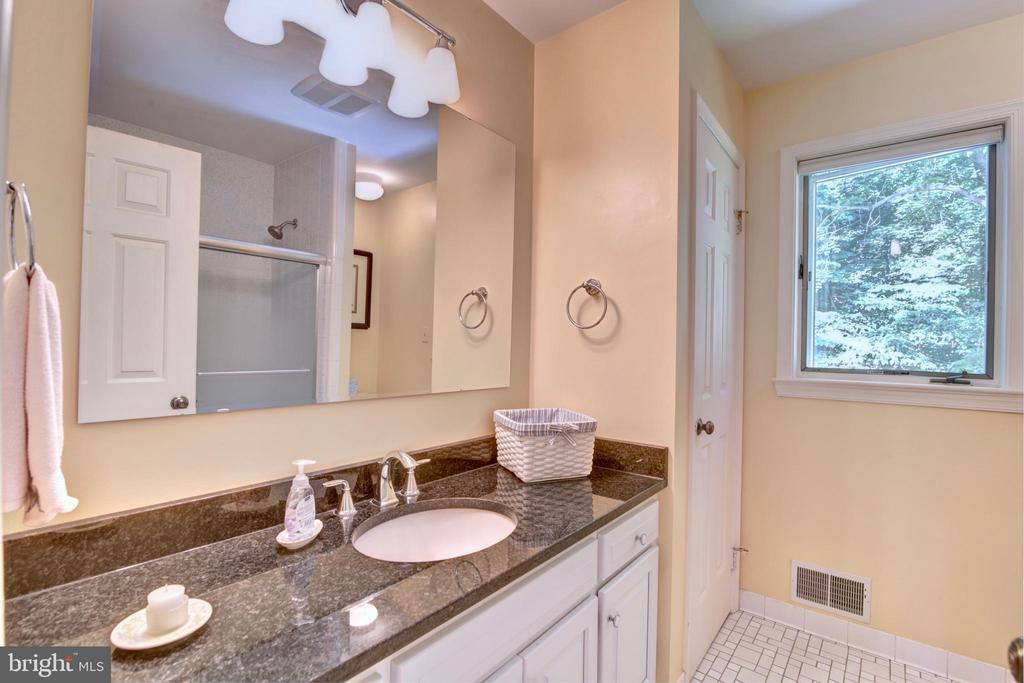 Updated Bathroom on Upper Level - 12729 MYERSVILLE LN, LEESBURG