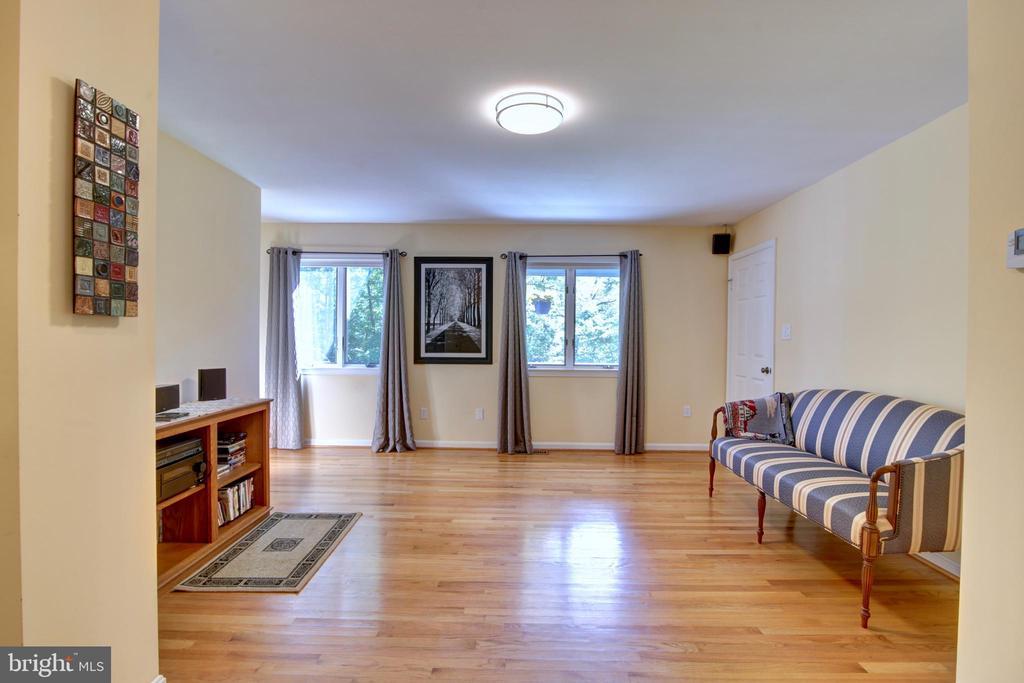 Family Room off Kitchen - 12729 MYERSVILLE LN, LEESBURG
