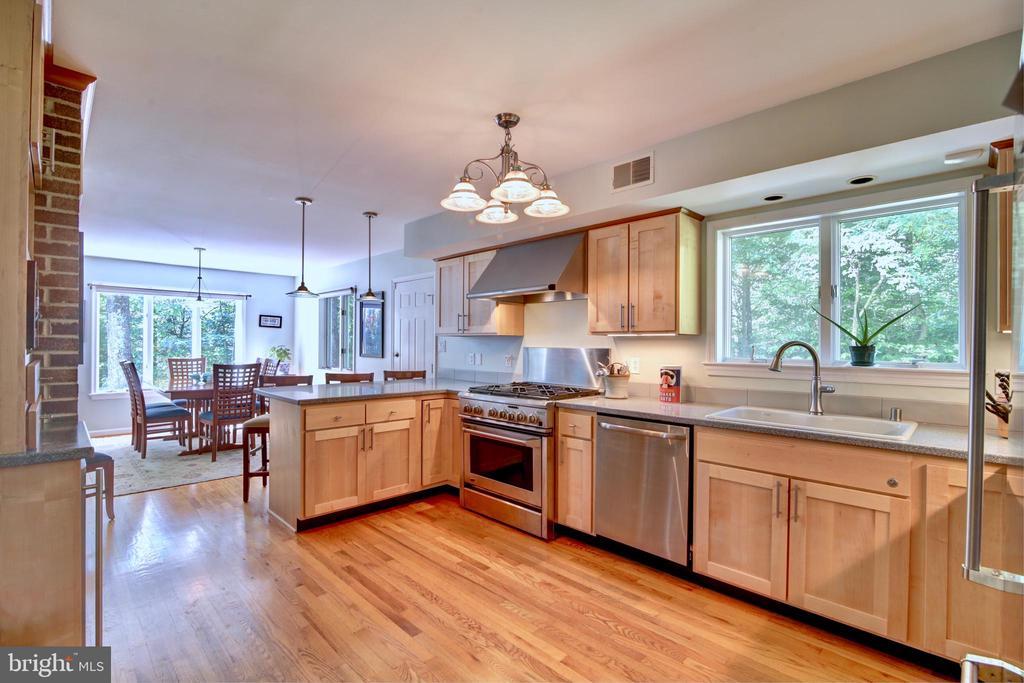 Kitchen/Dining Area - 12729 MYERSVILLE LN, LEESBURG
