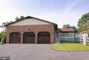 3 Car Garage with entrance to home & Office also - 7839 RIDGE RD, FREDERICK