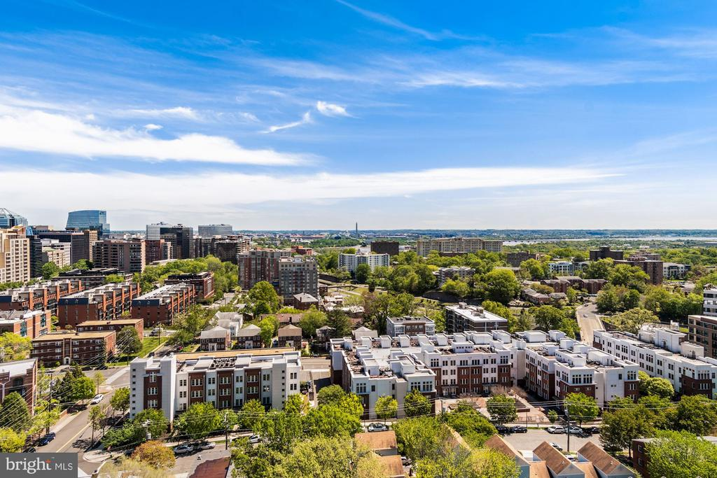 View From Rooftop Terrace - 2001 15TH ST N #1004, ARLINGTON