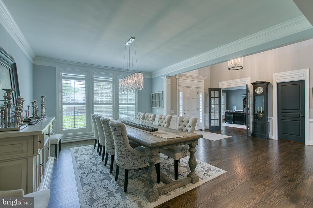 Dining Room/Entry - 21079 MILL BRANCH DR, LEESBURG