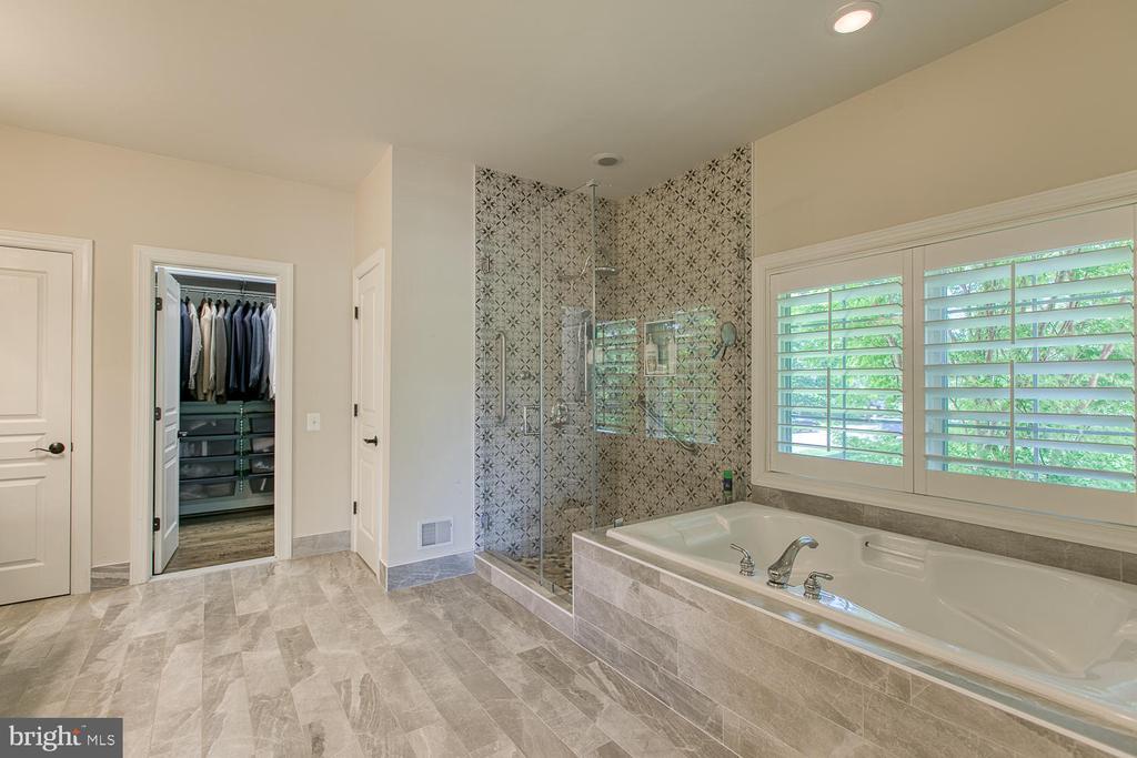 Luxury Master Bath - 21079 MILL BRANCH DR, LEESBURG