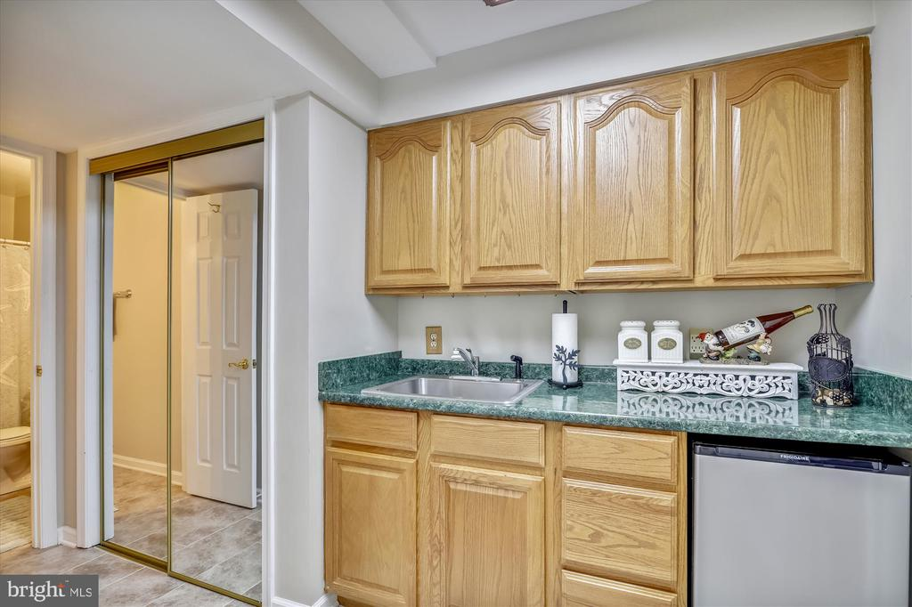 Kitchenette, perfect for a mother in law suite! - 19 POTOMAC OVERLOOK LN, STAFFORD