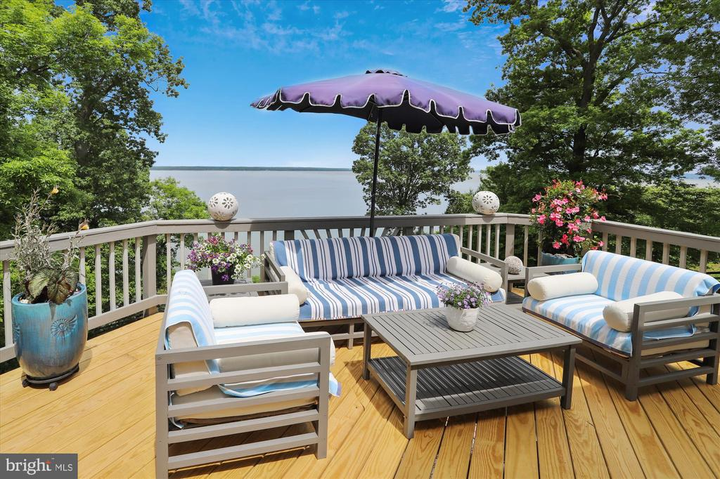 Just incredible sweeping views and so much privacy - 19 POTOMAC OVERLOOK LN, STAFFORD