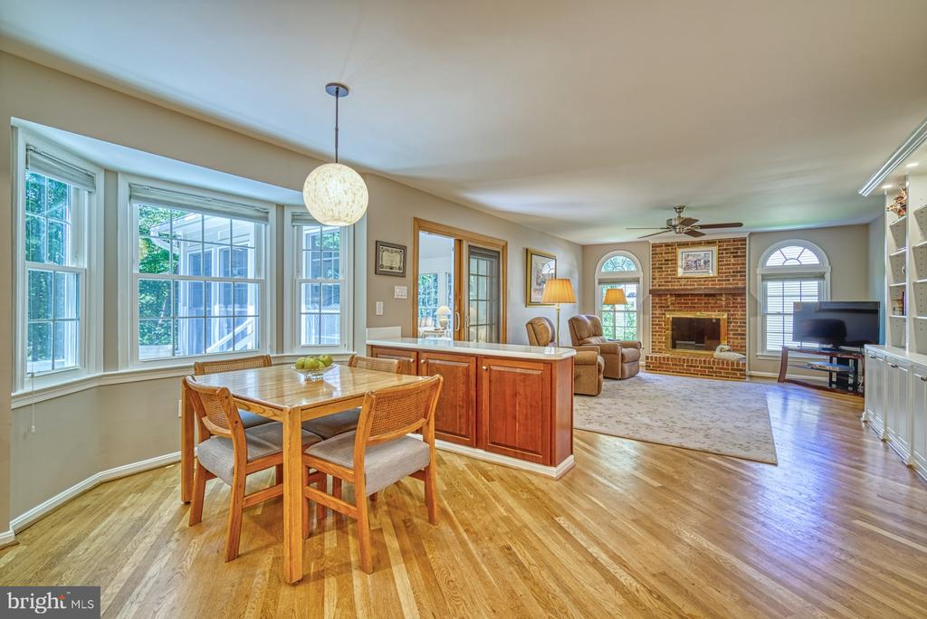 Breakfast Room - 11959 GREY SQUIRREL LN, RESTON