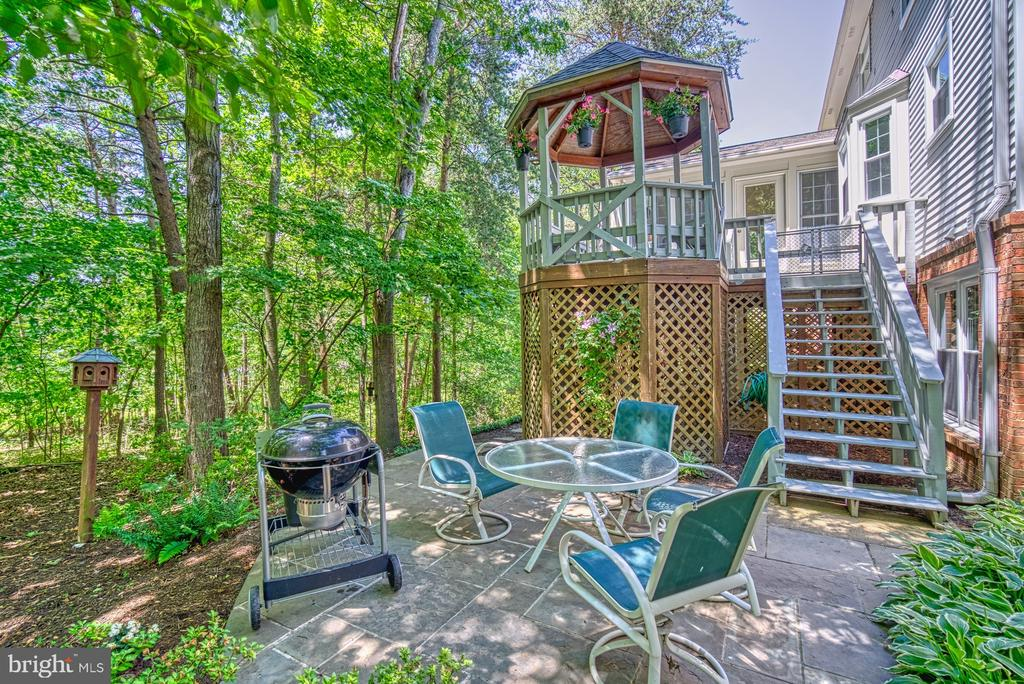Rear Patio - 11959 GREY SQUIRREL LN, RESTON