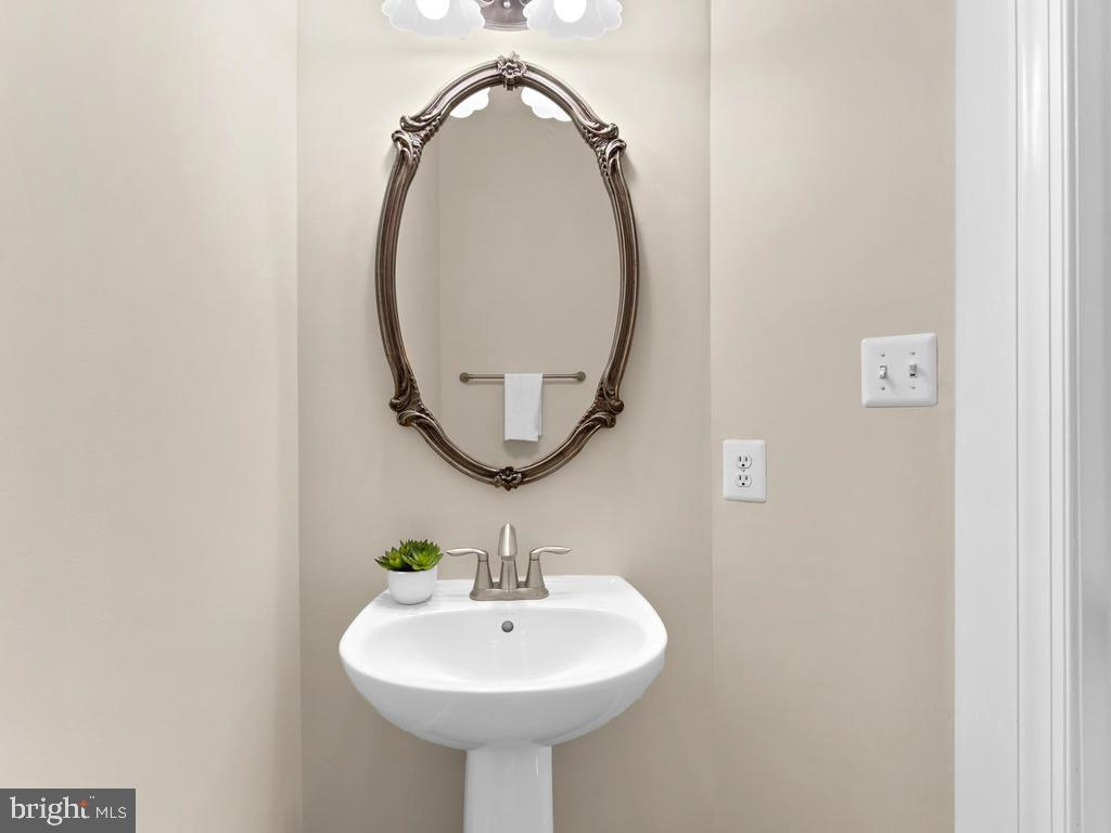Main Level Powder Room - 8903 AMELUNG ST, FREDERICK