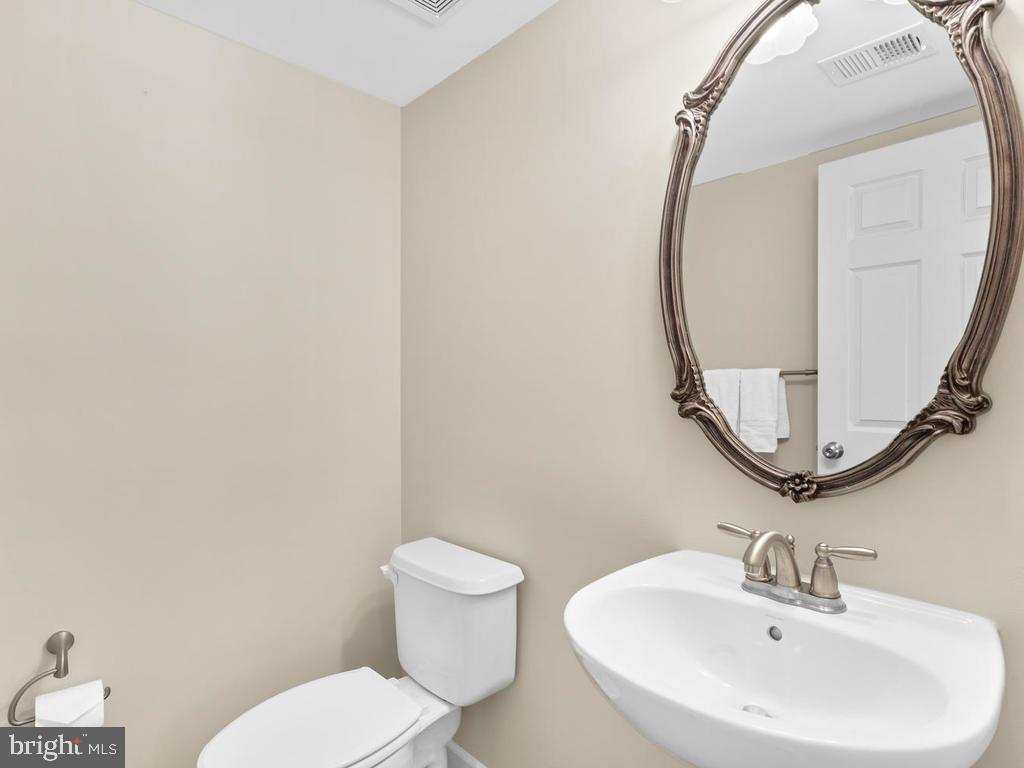 Lower Level Powder Room - 8903 AMELUNG ST, FREDERICK