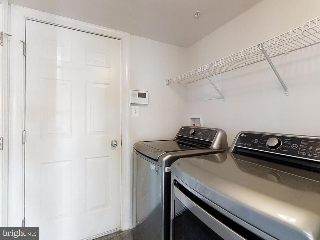 Lower Level Mudroom and Laundry - 8903 AMELUNG ST, FREDERICK