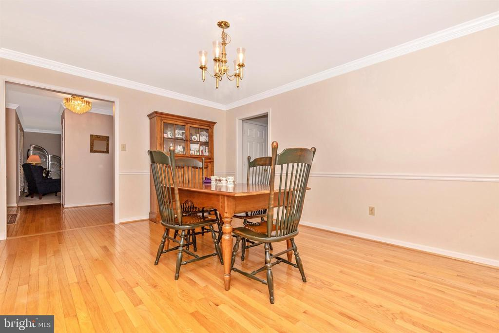 Dining Room - 13729 SAMHILL DR, MOUNT AIRY