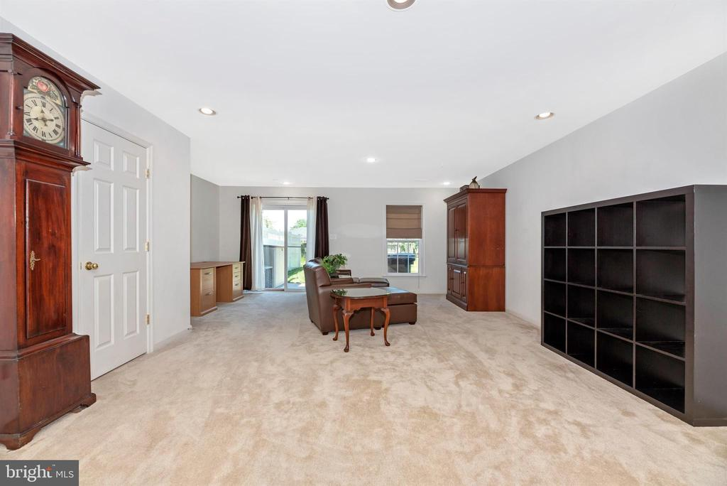 FINISHED BASEMENT W/ RECESSED LIGHTING & WALK OUT - 301 GREEN FERN CIR, BOONSBORO