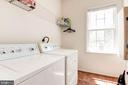 Laundry Room on Main Level - 7104 AYERS MEADOW LN, SPRINGFIELD