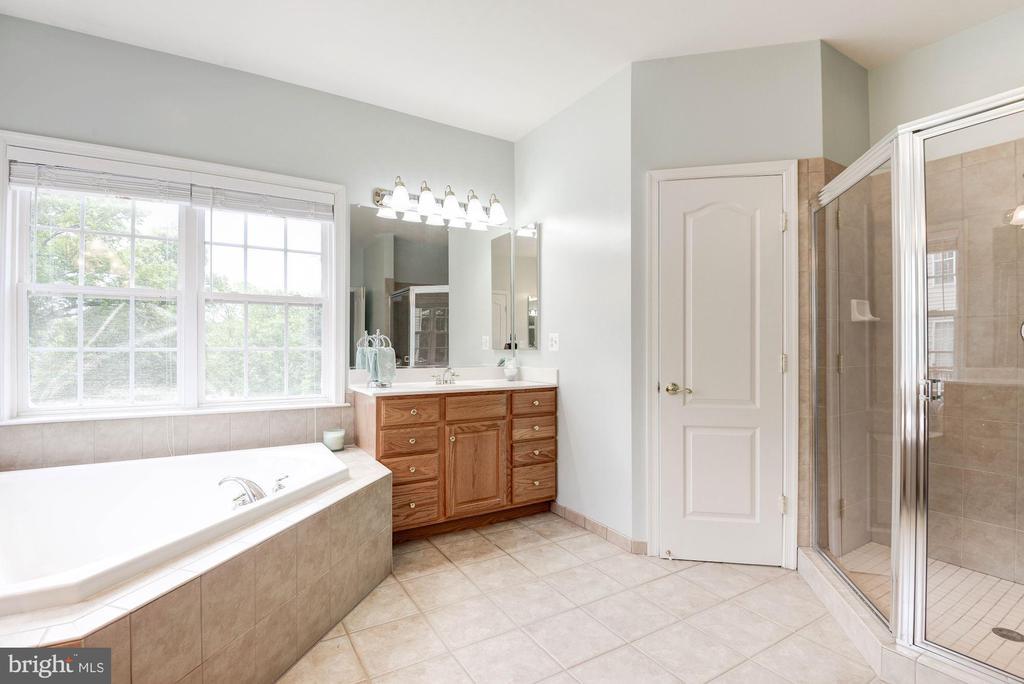 Master Bathroom  Has Jacuzzi Tub - 7104 AYERS MEADOW LN, SPRINGFIELD