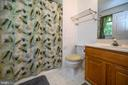 Walk in Shower with Safety rails - 10107 BALLSTON RD, FREDERICKSBURG