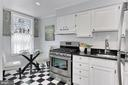 Classic kitchen with table for two - 420 N COLUMBUS ST, ALEXANDRIA