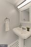 Powder room on main level - 420 N COLUMBUS ST, ALEXANDRIA