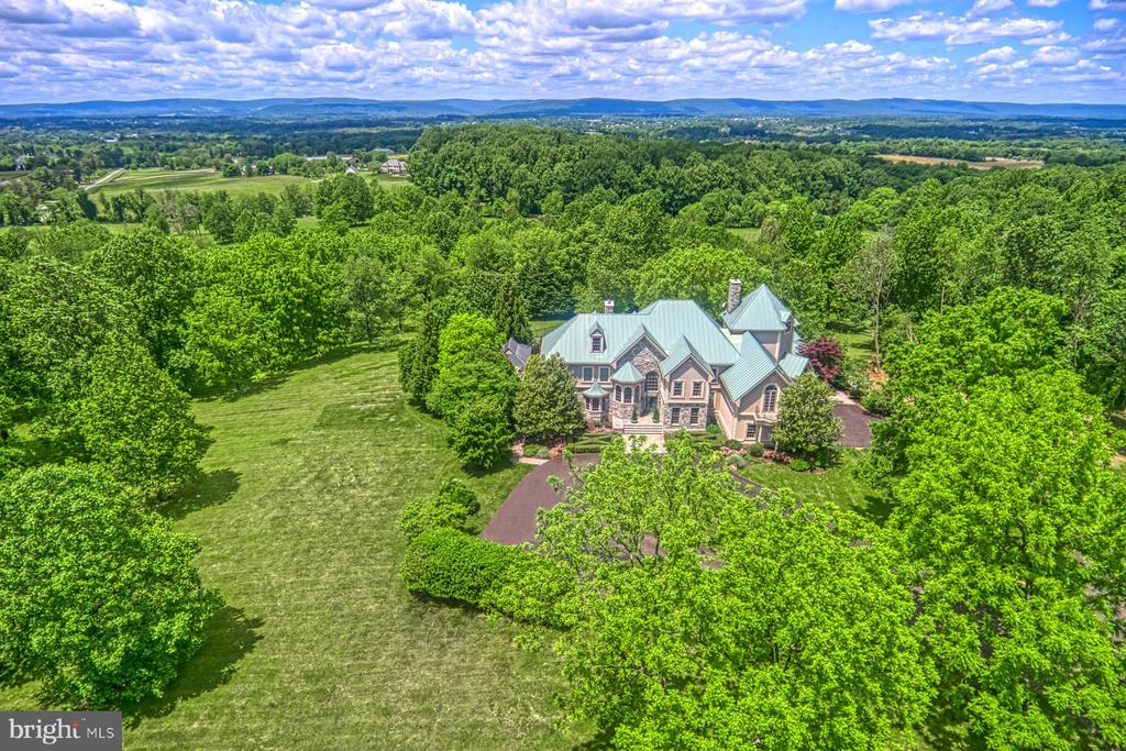 Incredible views of the Blue Ridge Mountains - 40310 HURLEY LN, PAEONIAN SPRINGS