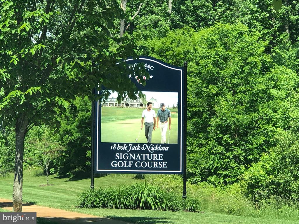 There is a public Jack Nicklaus Golf Course! - 17076 SILVER ARROW DR, DUMFRIES