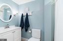 Second Floor Bath and Tub - 1839 9TH ST NW, WASHINGTON