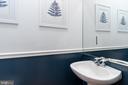 First Floor Powder Room - 1839 9TH ST NW, WASHINGTON
