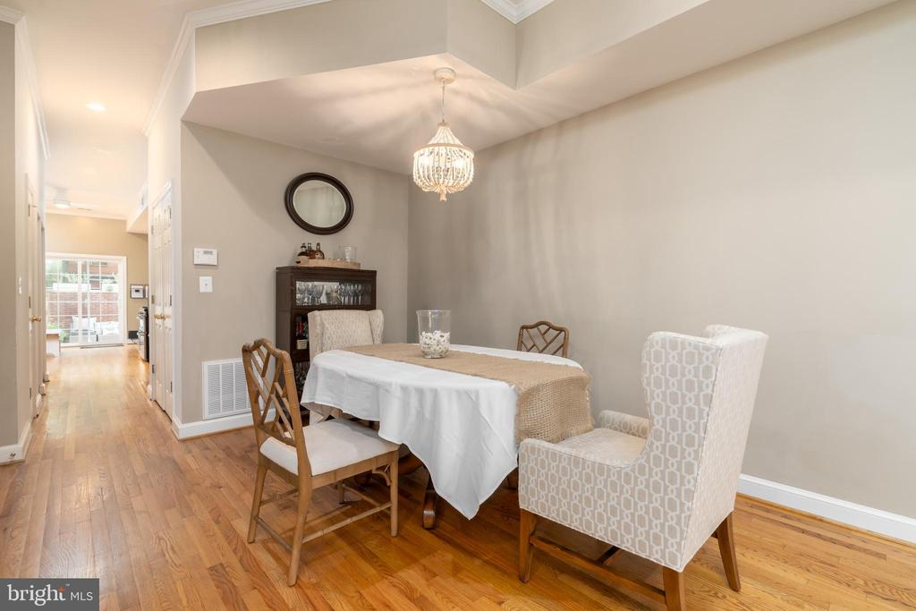 Dining Room - 1839 9TH ST NW, WASHINGTON
