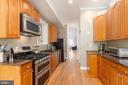 Galley Like Kitchen - 1839 9TH ST NW, WASHINGTON