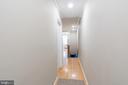 Second Floor Hallway - 1839 9TH ST NW, WASHINGTON