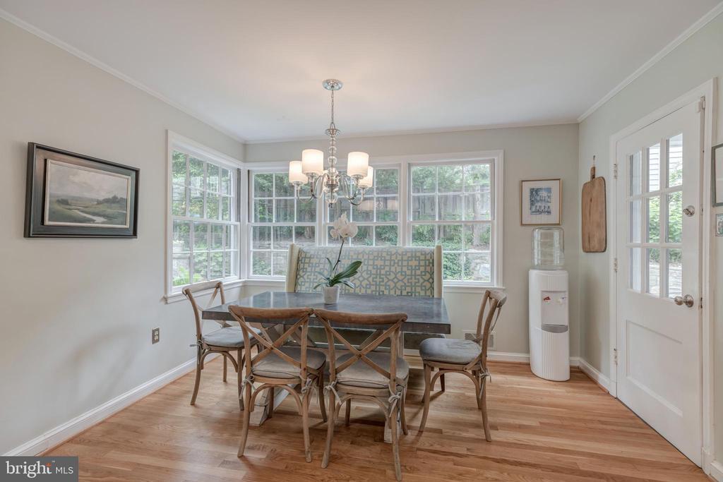 Main Level - Breakfast Area Open to Kitchen - 4070 52ND ST NW, WASHINGTON