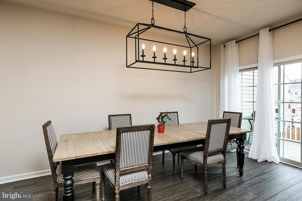 Dining Area - 8472 HEDWIG LN, FREDERICK