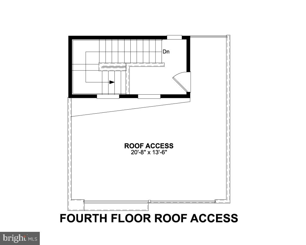Fourth Floor Roof Access - 1018 SOUTH TAYLOR CT, ARLINGTON