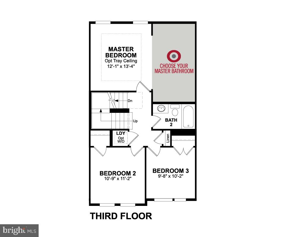 Third Floor - 1234 SOUTH TAYLOR ST, ARLINGTON