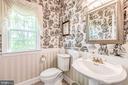 Beautiful Powder room Main Level - 37986 KITE LN, LOVETTSVILLE