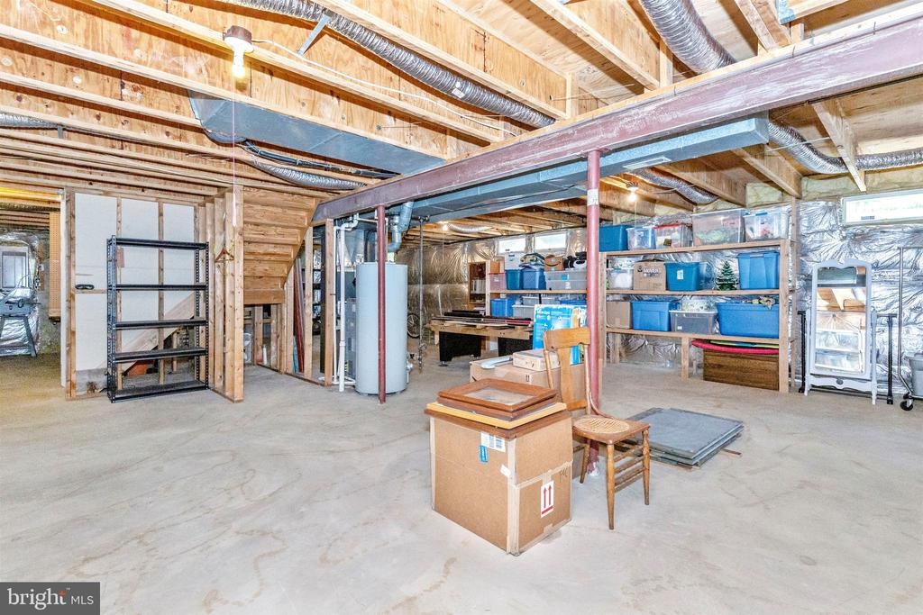 Basement for storage and still space for rooms - 1014 MERCER PL, FREDERICK