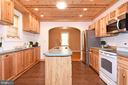 Upgraded Kitchen - 106 VALLEY VIEW PL, FREDERICKSBURG