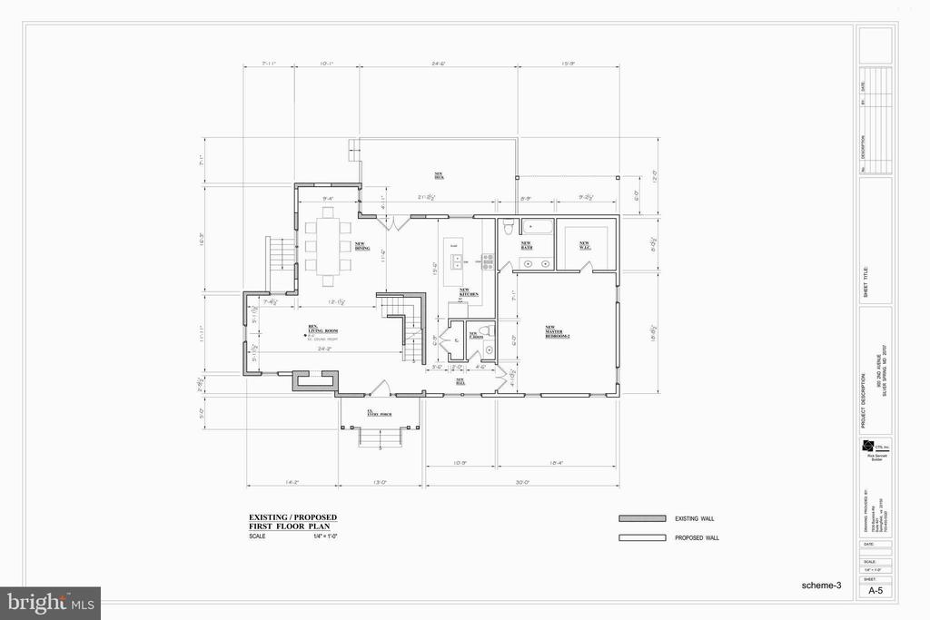 First Floor Plan - 9000 2ND AVE, SILVER SPRING
