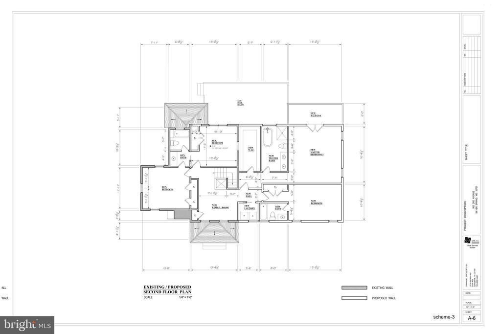Second Floor Plan - 9000 2ND AVE, SILVER SPRING