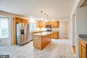 Updated kitchen! - 208 OLD LANDING CT, FREDERICKSBURG