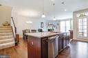 Kitchen - 4886 HITESHOW DR, FREDERICK